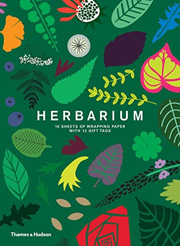 Herbarium: Gift Wrapping Paper Book: 10 Sheets of Wrapping Paper with 12 Gift Tags from Thames & Hudson