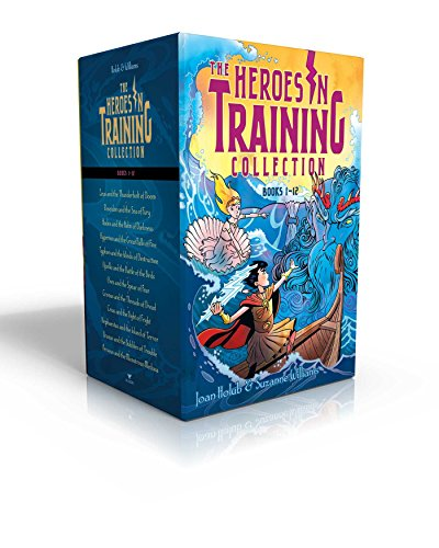 Heroes in Training Olympian Collection Books 1-12: Zeus and the Thunderbolt of Doom; Poseidon and the Sea of Fury; Hades and the Helm of Darkness; ... the Birds; Ares and the Spear of Fear; Etc. from Aladdin Paperbacks