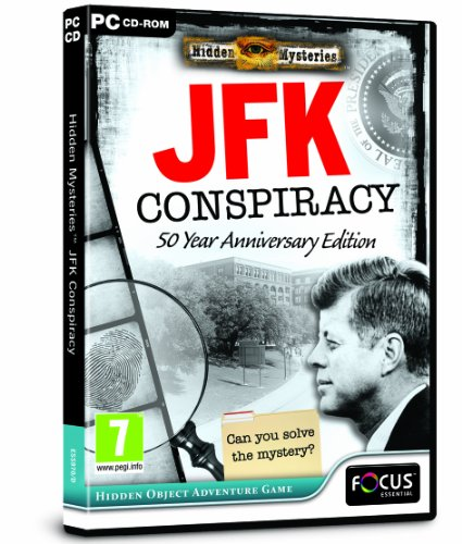 Hidden Mysteries JFK Conspiracy (PC DVD) from FOCUS MULTIMEDIA