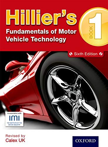 Hillier's Fundamentals of Motor Vehicle Technology Book 1 from Oxford University Press