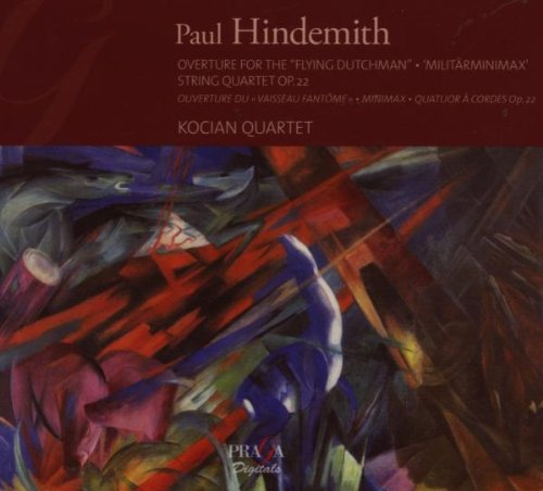 Hindemith - String Quartets - OVERTURE 'The Flying Dutchman' - MINIMAX - QUARTET OP 22