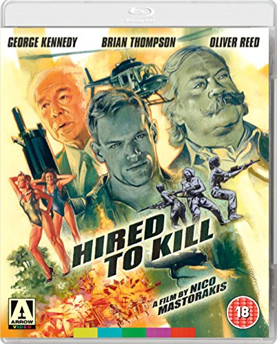 Hired To Kill Blu-Ray from Arrow Video