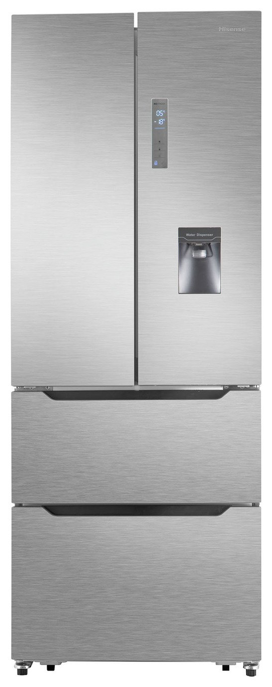 Hisense RF528N4WC1 American Fridge Freezer - Stainless Steel from Hisense