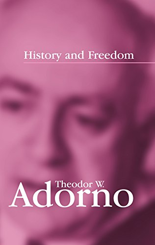 History and Freedom: Lectures 1964-1965 from Polity Press