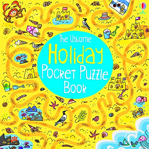 Holiday Pocket Puzzle Book (Activity and Puzzle Books) from Usborne Publishing Ltd