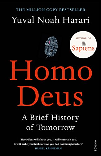 Homo Deus: A Brief History of Tomorrow from Vintage Teas
