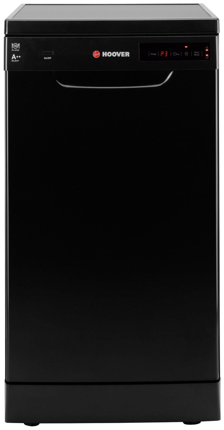 Hoover HDP 21049B Slim Dishwasher - Black from Hoover