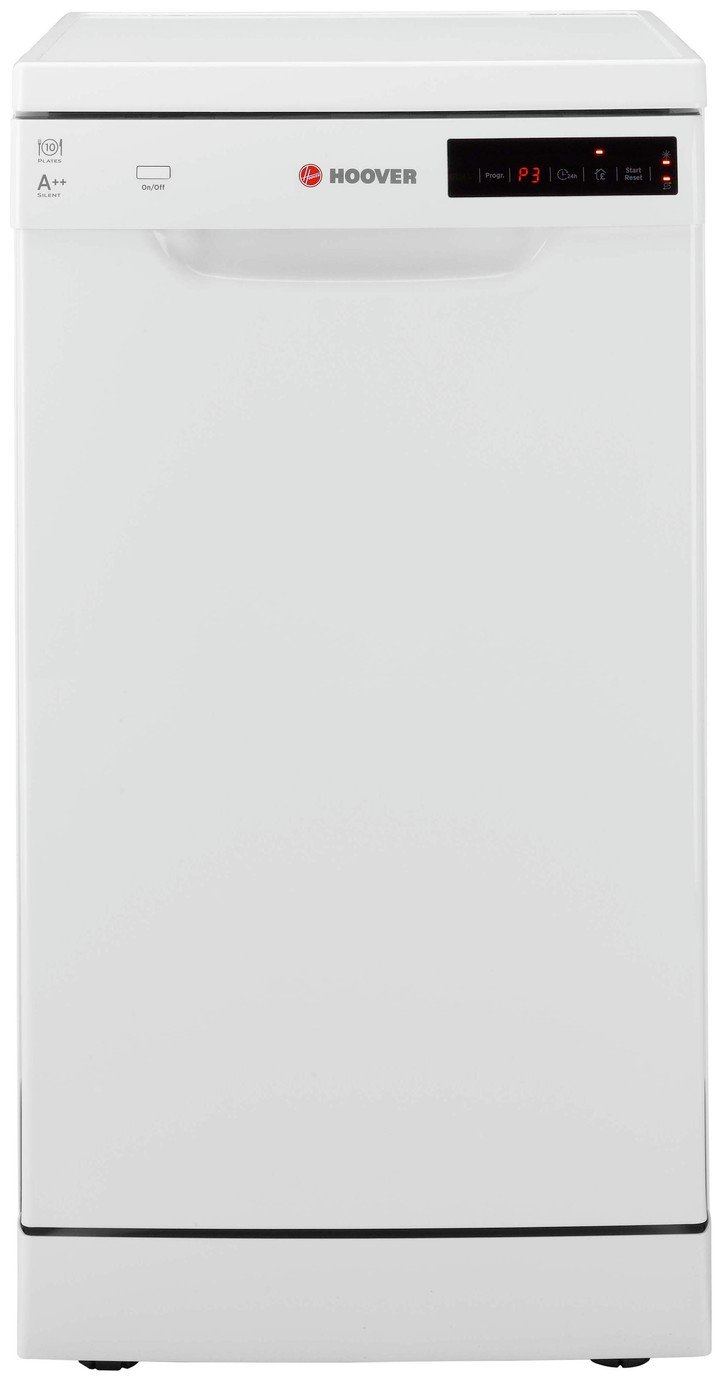 Hoover HDP 21049W Slim Dishwasher - White from Hoover
