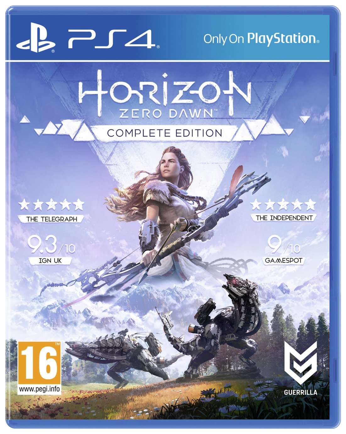 Horizon Zero Dawn: Complete Edition PS4 Game from PlayStation
