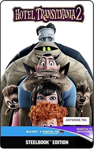 Hotel Transylvania 2 (Steelbook) [Blu-ray] [2015] [Region Free] from Sony Pictures Home Entertainment