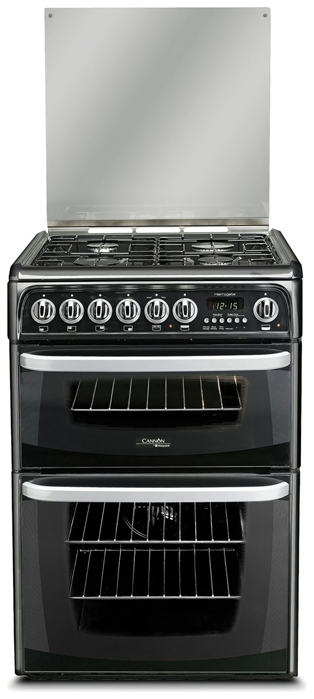 Hotpoint Cannon CH60DHKF Cooker - Black from Hotpoint