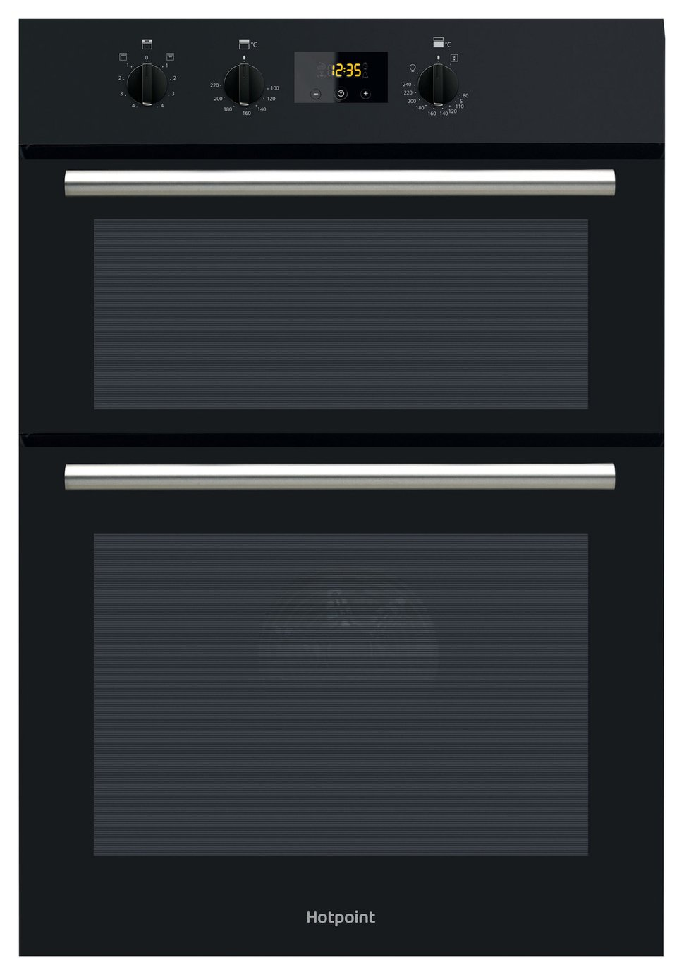 Hotpoint DD2540BL Built-in Electric Double Oven - Black from Hotpoint