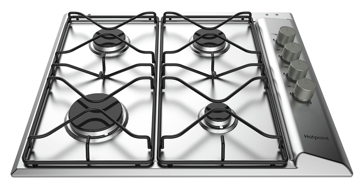 Hotpoint PAN642IXH Gas Hob - S/Steel from hotpoint