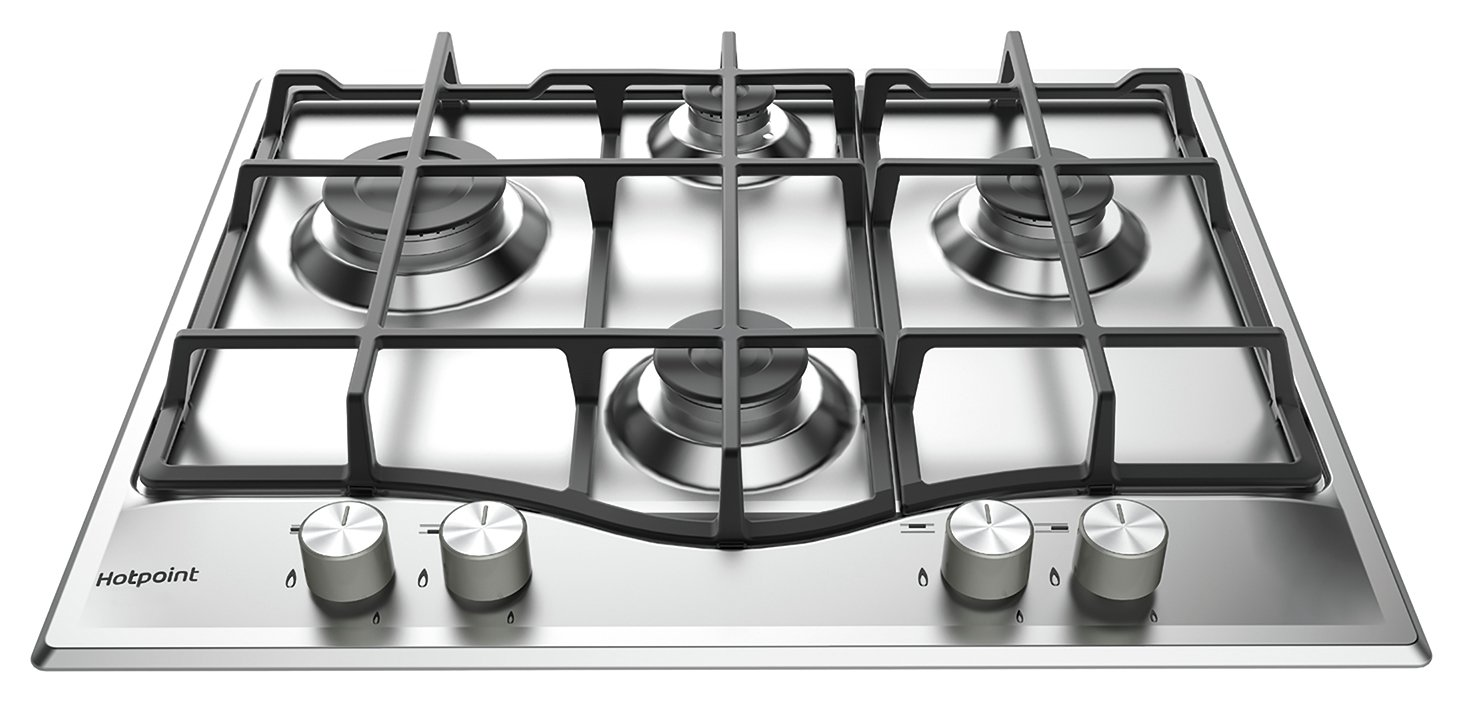Hotpoint PCN 641 IX/H Gas Hob - Stainless Steel from hotpoint
