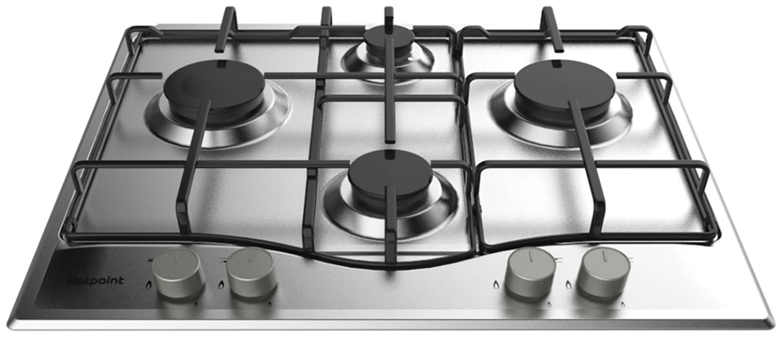 Hotpoint PCN642XH Gas Hob - Stainless Steel. from hotpoint