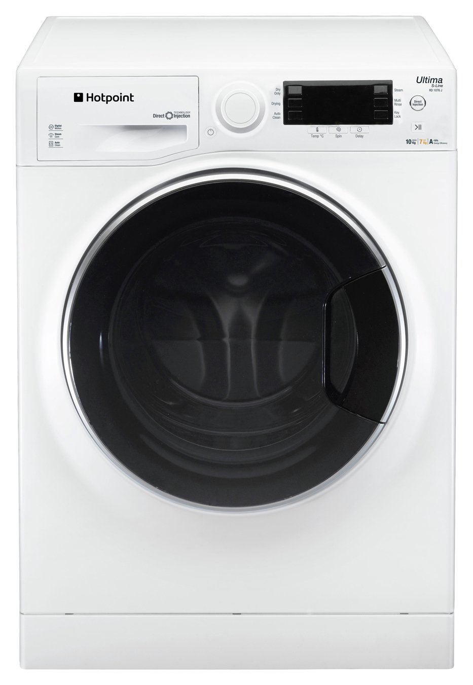 Hotpoint RD966JDUK Washer Dryer - White - Del/Ins/Rec from Hotpoint