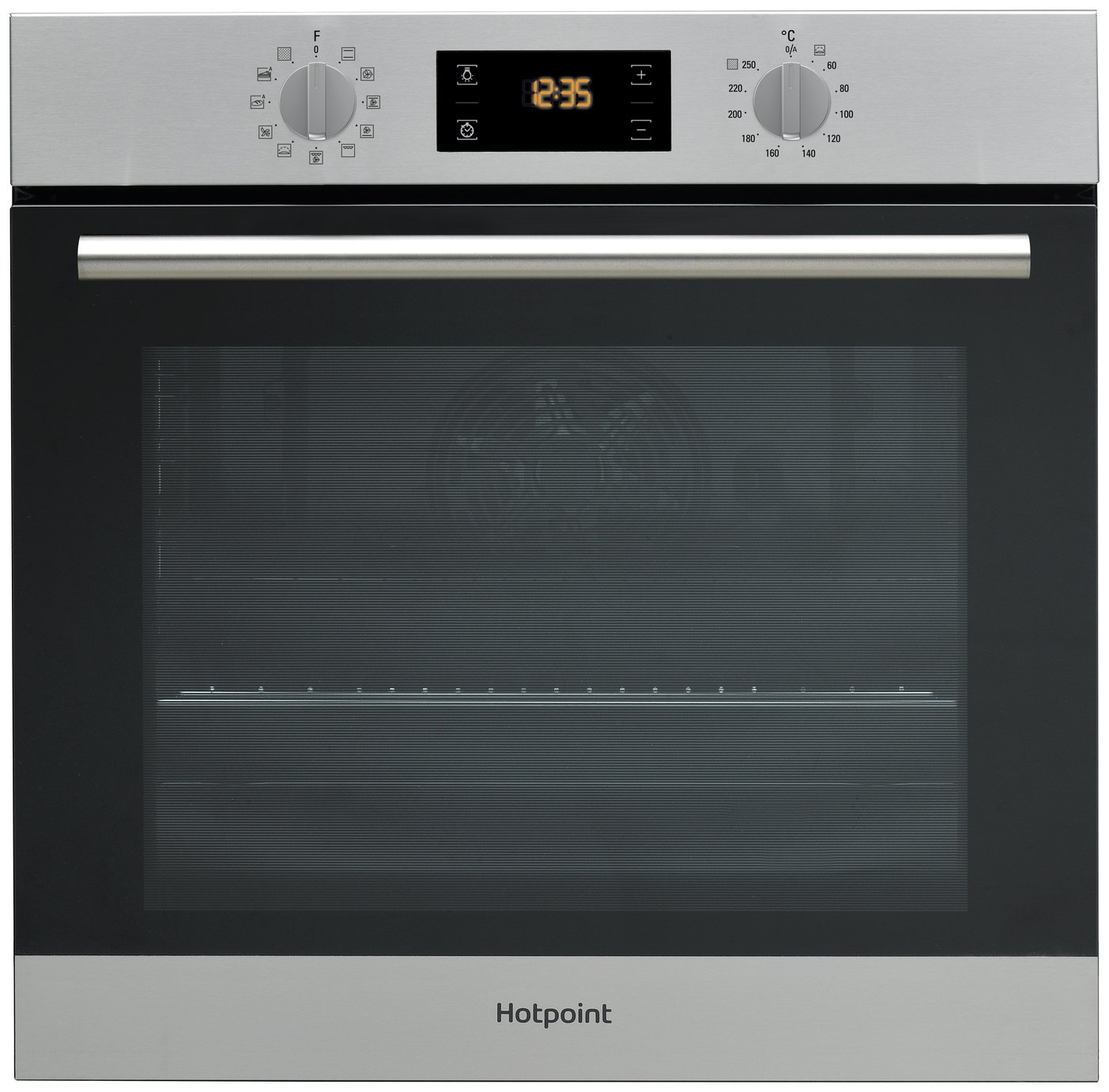 Hotpoint SA2840PIX Electric Fan Oven - S/Steel + Installation from hotpoint