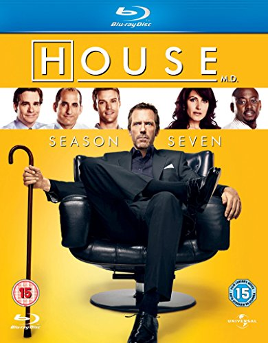 House Season 7 [Blu-ray] [Region Free] from Universal/Playback