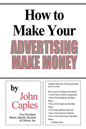 How to Make Your Advertising Make Money from www.snowballpublishing.com