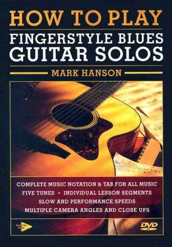 How to Play Fingerstyle Blues Guitar Solos [DVD] from Music Sales