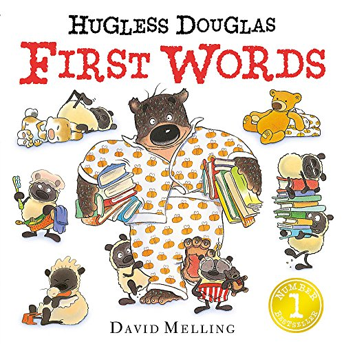 Hugless Douglas First Words Board Book from Hodder Children's Books