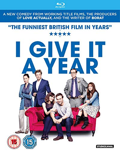 I Give It A Year (2 Disc edition) from Studio Canal