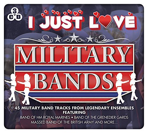 I Just Love Military Bands from Music Digital 3CD