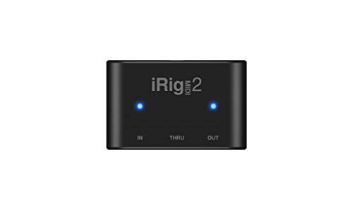 IK Multimedia iRig Midi 2 Universal MIDI Interface for iPhone, iPod Touch, iPad, Mac and PC-Black from IK Multimedia