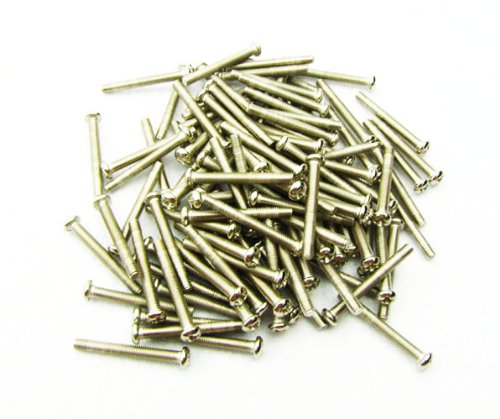 IKN 3*26mm Humbucker Pickup Screws mounting for Electric Guitar,Chrome Nickel(Pack of 30pcs) from IKN