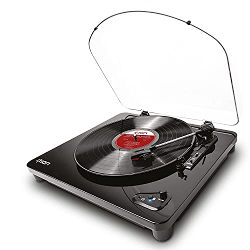 ION Audio Air LP | Bluetooth Streaming Belt-Drive Turntable with USB Conversion - Piano Black from ION Audio