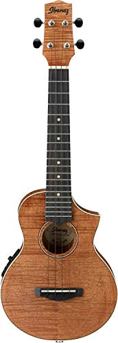 "Ibanez UEW15E ""Natural Finish"" Electro Ukulele with Open Pore and Pickup from Ibanez"