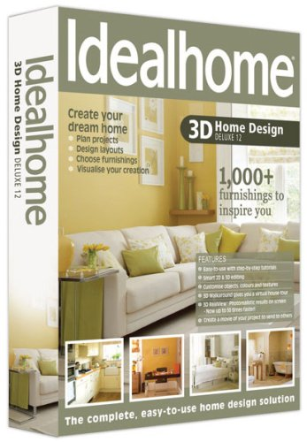 Ideal Home 3D Home Design Deluxe 12 from Avanquest Software