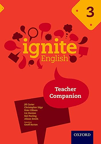 Ignite English: Teacher Companion 3 from OUP Oxford