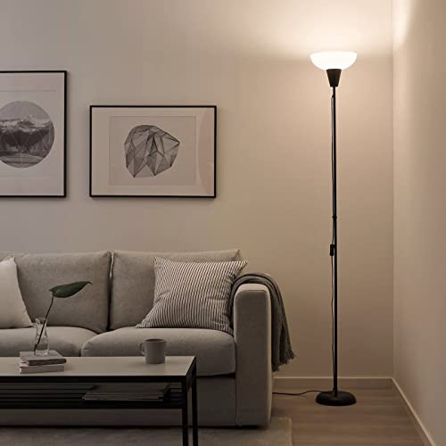IKEA Floor Uplighter Light Lamp (Black&White) from Ikea