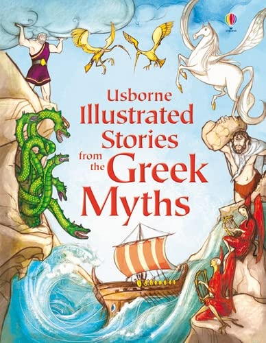 Illustrated Stories from the Greek Myths (Usborne Illustrated Stories) (Usborne Illustrated Story Collections) from Usborne Publishing Ltd