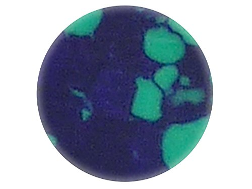 Incudo Precision IP000246 4mm Dot Inlays - Azurite Malachite (Pack of 20) from Incudo Precision