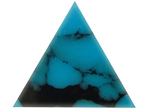 Incudo Precision IP001804 20mm Triangle Inlays - Arizona Turquoise (Pack of 10) from Incudo Precision