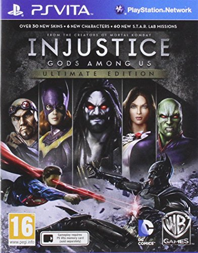 Injustice: Gods Among Us Ultimate Edition PS VITA UK from Warner Bros. Interactive