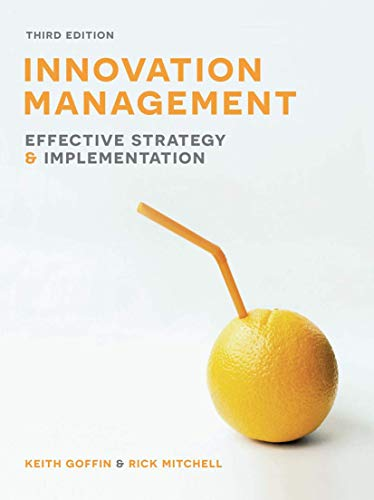 Innovation Management: Effective Strategy and Implementation from Palgrave