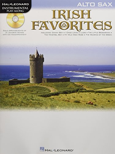 Instrumental Play-Along Irish Favorites Alto Sax Book/Cd from Hal Leonard