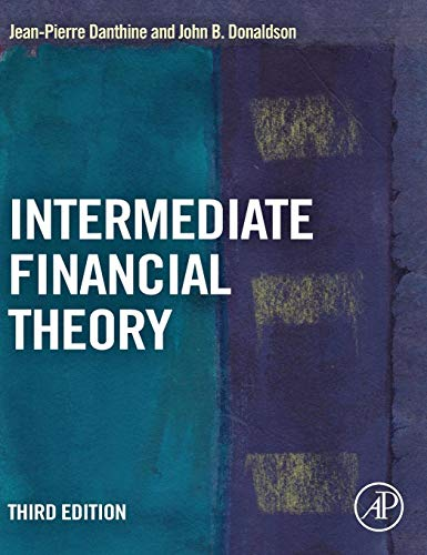 Intermediate Financial Theory (Academic Press Advanced Finance) from Academic Press