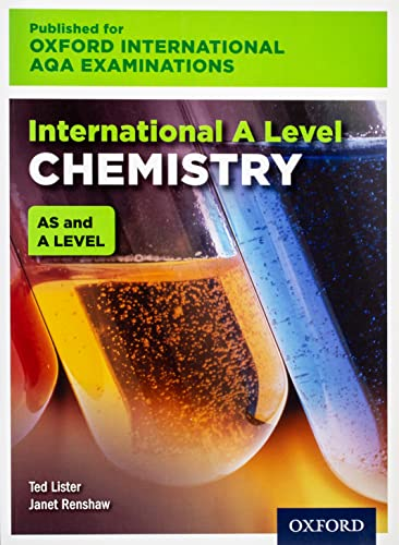 Oxford International AQA Examinations: International A Level Chemistry from OUP Oxford