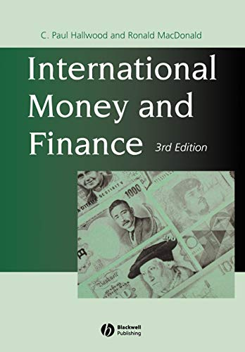 International Money and Finance 3rd Edition from John Wiley & Sons