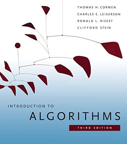 Introduction to Algorithms from MIT Press