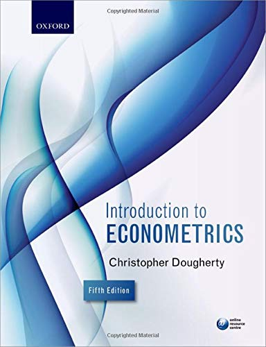 Introduction to Econometrics from OUP Oxford