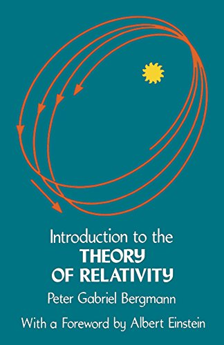 Introduction to the Theory of Relativity (Dover Books on Physics) from Dover Publications Inc.