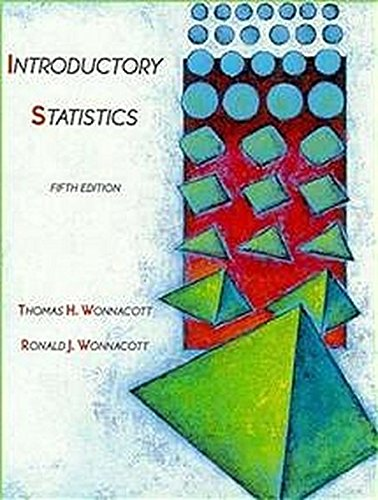 Introductory Statistics (Probability & Mathematical Statistics) from Wiley