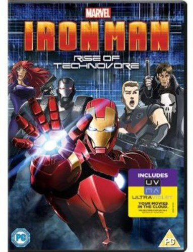 Iron Man: Rise Of Technovore (DVD + UV Copy) from Sony Pictures Home Entertainment