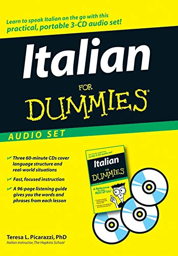 Italian For Dummies Audio Set from For Dummies