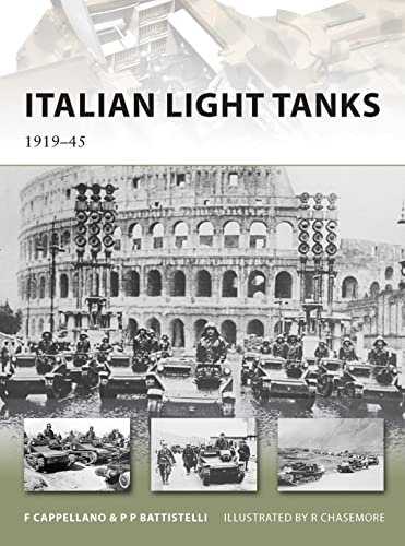 Italian Light Tanks: 1919–45 (New Vanguard) from Osprey Publishing